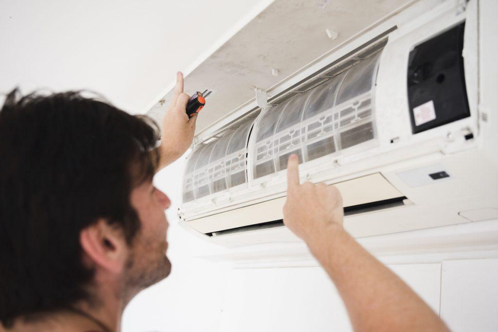manutenção corretiva ar condidionado